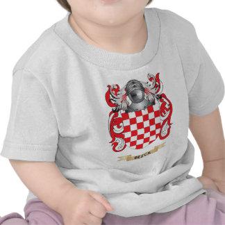 Escudo de armas de Beeck (escudo de la familia) Camiseta