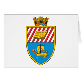 Escudo de armas de Beirut Tarjeta