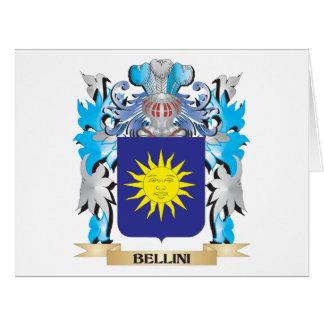 Escudo de armas de Bellini Felicitaciones