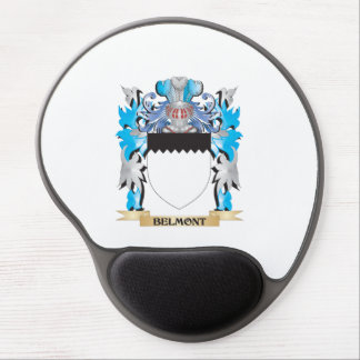 Escudo de armas de Belmont Alfombrillas De Ratón Con Gel