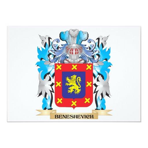 Escudo de armas de Beneshevich Anuncio
