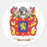 Escudo de armas de Bengtsson (escudo de la familia Pegatina