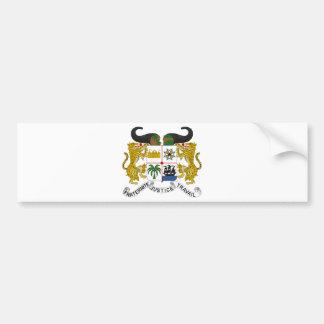 Escudo de armas de Benin Pegatina Para Auto