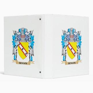 Escudo de armas de Benson