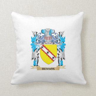 Escudo de armas de Benson Cojines