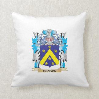 Escudo de armas de Benson Almohada