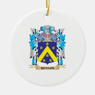 Escudo de armas de Benson Adornos