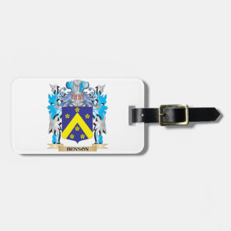 Escudo de armas de Benson Etiquetas De Equipaje