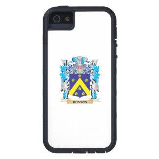 Escudo de armas de Benson iPhone 5 Case-Mate Carcasa