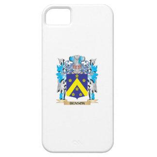 Escudo de armas de Benson iPhone 5 Funda
