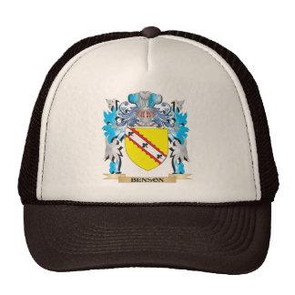 Escudo de armas de Benson Gorra