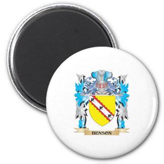 Escudo de armas de Benson Imán De Frigorifico