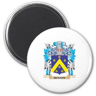 Escudo de armas de Benson Imanes De Nevera