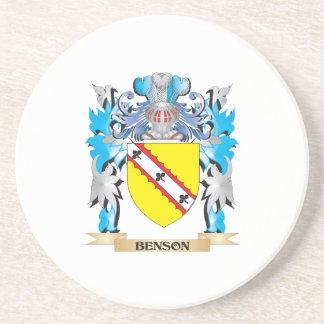 Escudo de armas de Benson Posavasos Manualidades