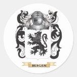 Escudo de armas de Bergen (escudo de la familia) Etiquetas