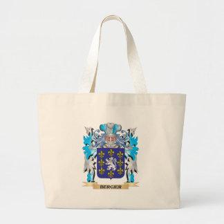 Escudo de armas de Bergier Bolsa De Mano