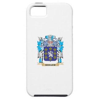Escudo de armas de Bergier iPhone 5 Cárcasas