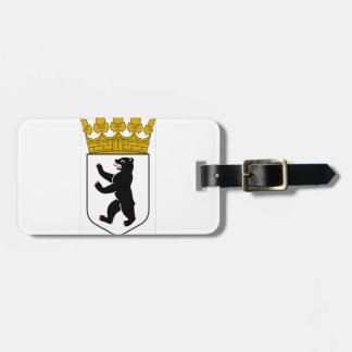Escudo de armas de Berlín (Alemania) Etiquetas Maleta