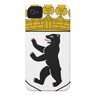 Escudo de armas de Berlín (Alemania) iPhone 4 Case-Mate Cárcasas