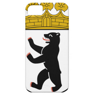 Escudo de armas de Berlín (Alemania) iPhone 5 Protectores