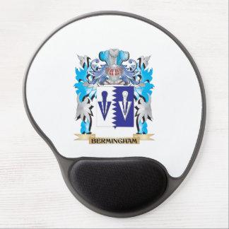 Escudo de armas de Bermingham Alfombrillas De Ratón Con Gel