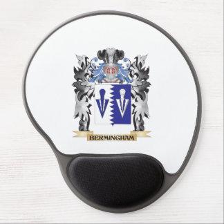 Escudo de armas de Bermingham - escudo de la Alfombrilla De Raton Con Gel