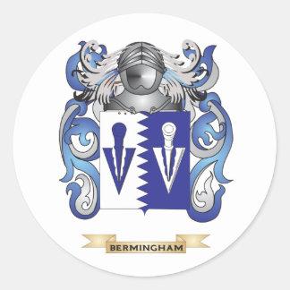 Escudo de armas de Bermingham (escudo de la Pegatina Redonda