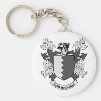 Escudo de armas de BERMINGHAM Llaveros