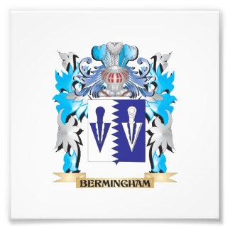 Escudo de armas de Bermingham Foto