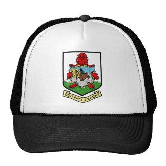 Escudo de armas de Bermudas Gorras De Camionero
