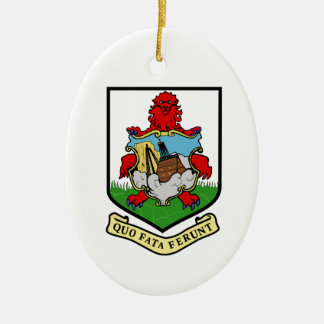 Escudo de armas de Bermudas Ornamentos De Reyes