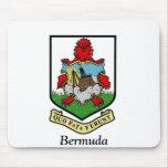 Escudo de armas de Bermudas Tapetes De Ratones