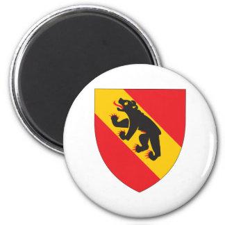 Escudo de armas de Berna Imán Redondo 5 Cm