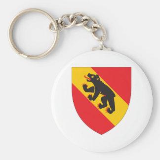 Escudo de armas de Berna Llavero Redondo Tipo Pin