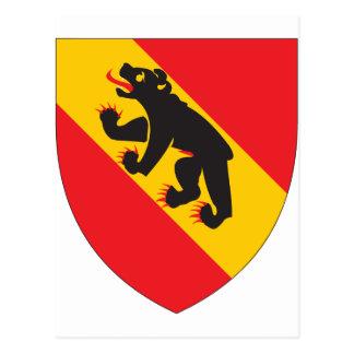 Escudo de armas de Berna Postales