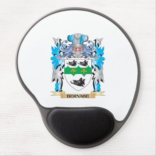 Escudo de armas de Bernabe Alfombrilla De Raton Con Gel