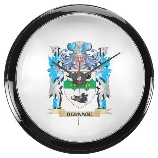Escudo de armas de Bernabe Relojes Acuario