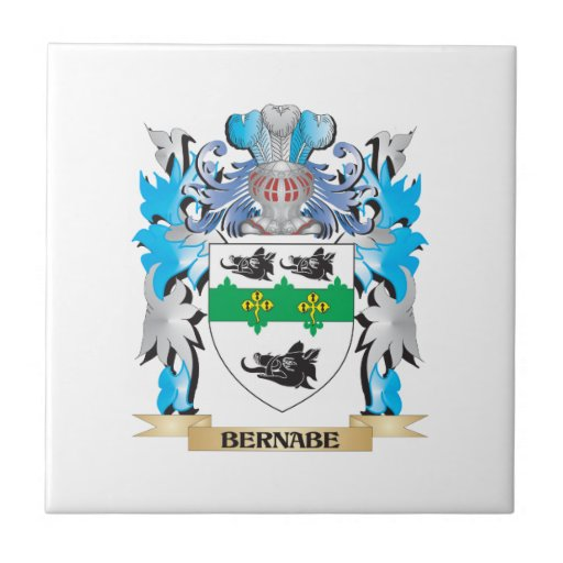 Escudo de armas de Bernabe Azulejo