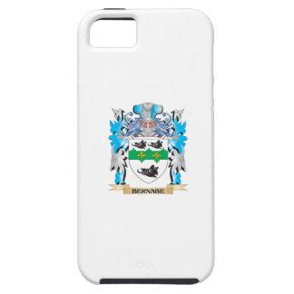 Escudo de armas de Bernabe iPhone 5 Case-Mate Cárcasas