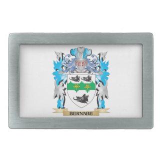 Escudo de armas de Bernabe Hebillas Cinturón Rectangulares