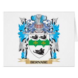 Escudo de armas de Bernabe Felicitacion