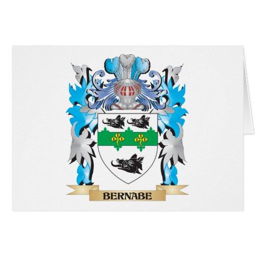 Escudo de armas de Bernabe Tarjeta
