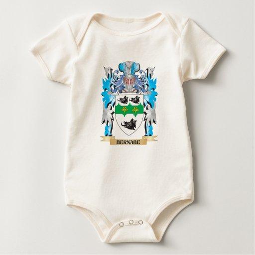 Escudo de armas de Bernabe Traje De Bebé