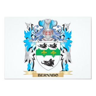 Escudo de armas de Bernabo Invitacion Personal
