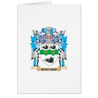 Escudo de armas de Bernabo Felicitacion