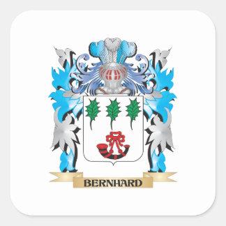 Escudo de armas de Bernhard Pegatina Cuadrada