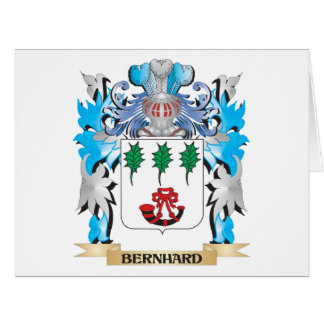 Escudo de armas de Bernhard Felicitaciones