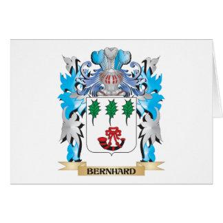 Escudo de armas de Bernhard Tarjetas