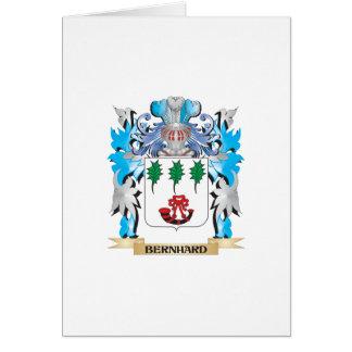 Escudo de armas de Bernhard Felicitación