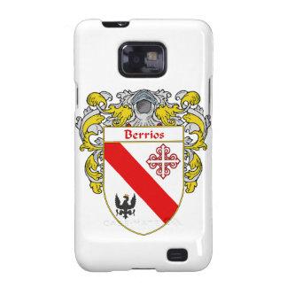 Escudo de armas de Berrios escudo de la familia Galaxy S2 Cobertura